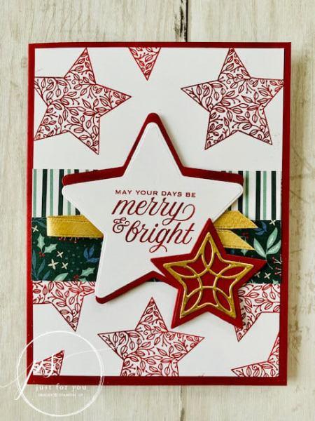 Merry & Bright Card - Laura Milligan