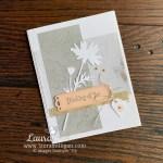 Quiet Meadow Bundle Handmade Card Stampin