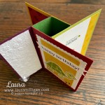 how to make a tower pinwheel card by Laura Milligan Turtle Friends Bundle Stampin