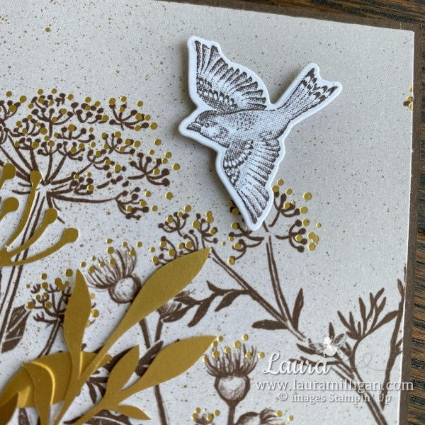 create a beautiful card with the Blackberry Beauty Suite from Stampin' Up! by Laura Milligan