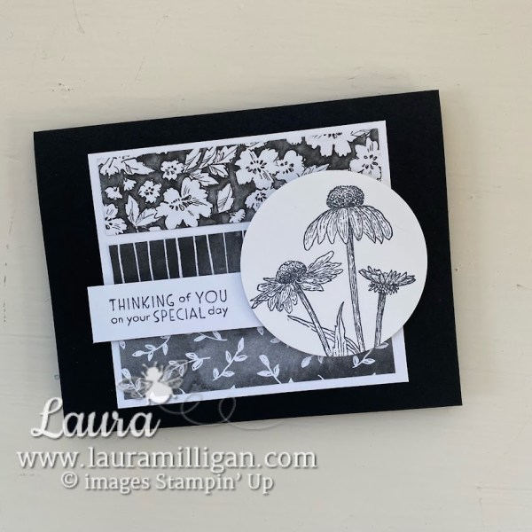 create a beautiful hand stamped card with Autumn Harvest by Stampin' Up! Laura Milligan Stampin' Up! Demonstrator Earn Free Bees