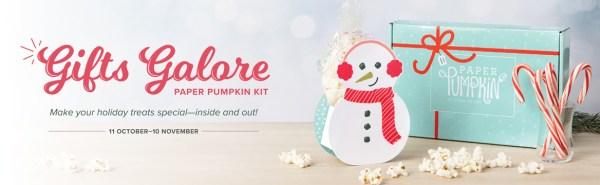 Gifts Galore Paper Pumpkin Kit