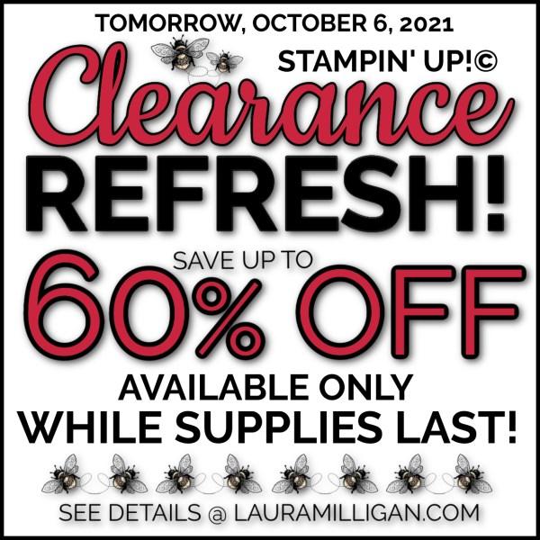 Clearance Rack Refresh Laura
