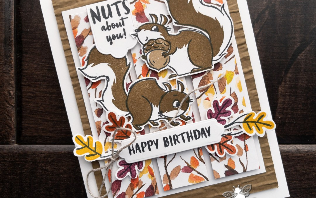 Happy Birthday with Nuts About Squirrels for #TGIFC337