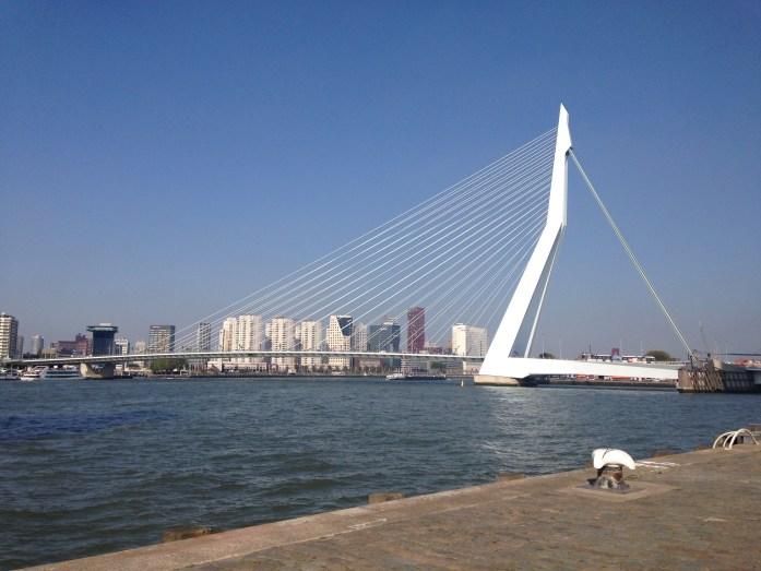 Rotterdam y su puente emblema