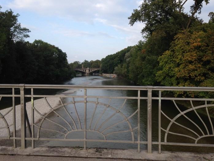Rio Isar, en Munich