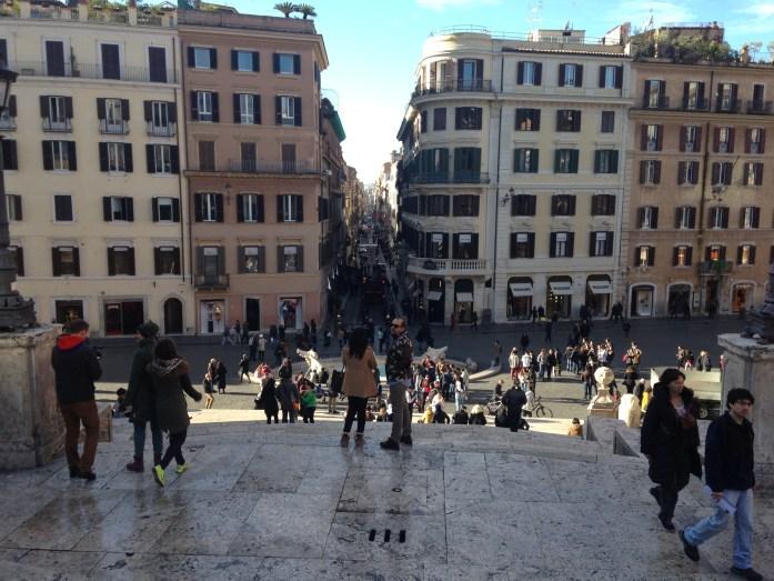 Roma desde Pizza Spagna