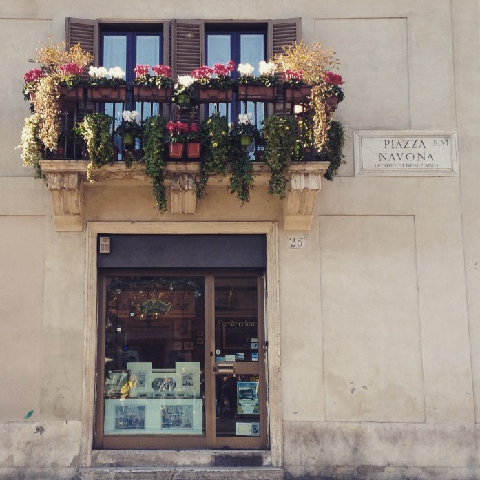Una ventanita de Piazza Navona