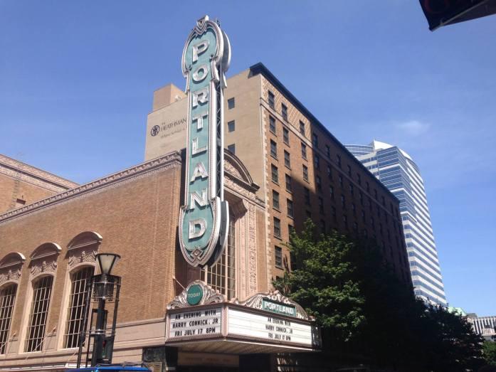 Una fachada increíble en Portland, Oregon.