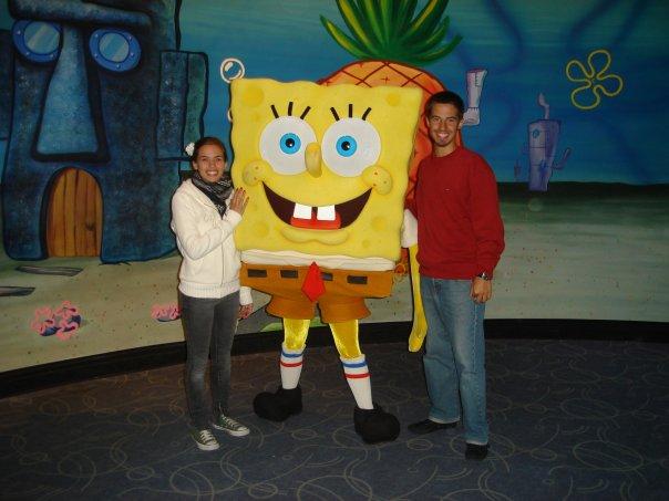 Bob Esponja Universal Orlando
