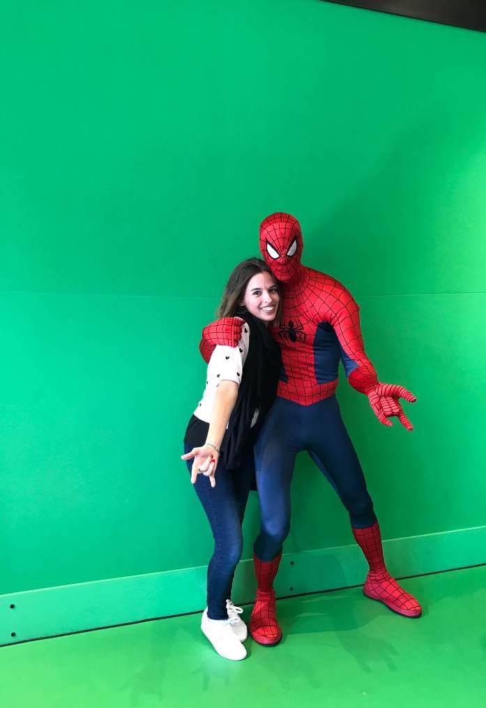 Spiderman Universal Studios