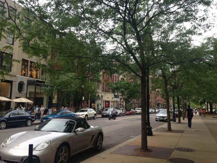 Boston centro comercial