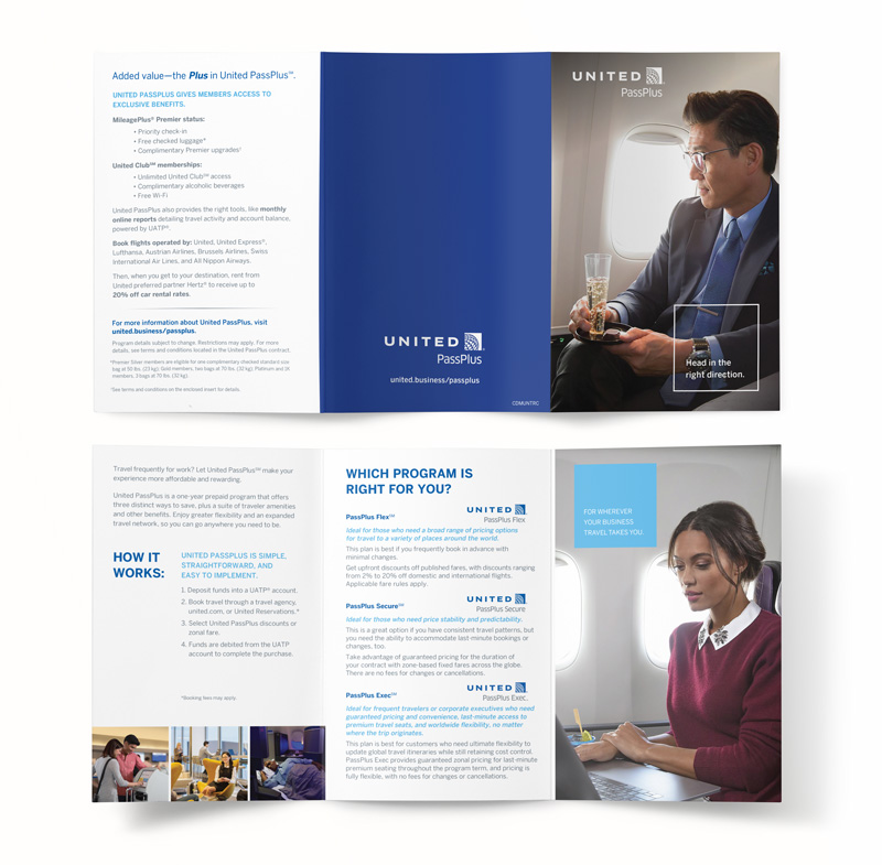 United PassPluss Consumer Brochure