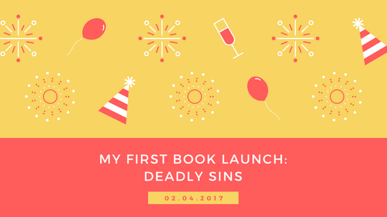 Book launch for my debut novel on Amazon