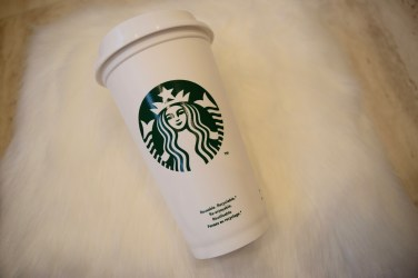 Front Starbucks cup