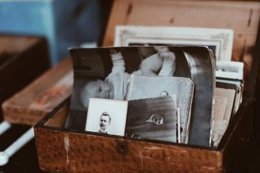 vecchie foto bianco e nero