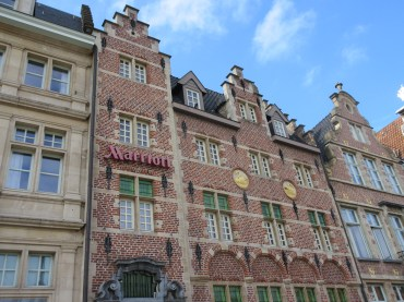 Marrion hotel in Ghent (outside)