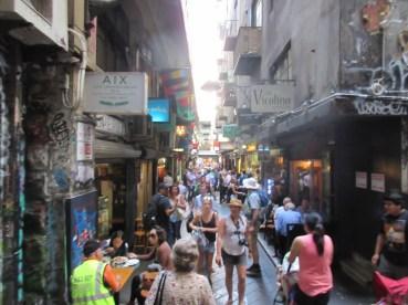 Bustling alleyways