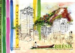Couverture, Brésil: carnet d'un voyage entre villes et nature