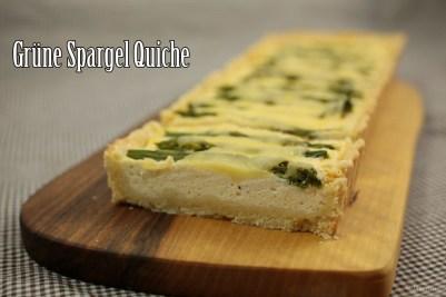 Grüne Spargel Quiche