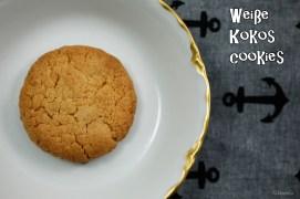 Weiße Kokos Cookies