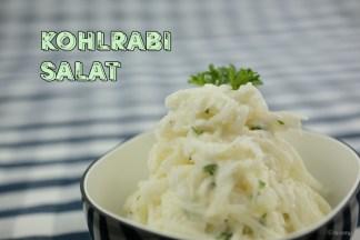 Kohlrabi Salat