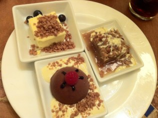 A few of the desserts I had at the Bellagio buffet