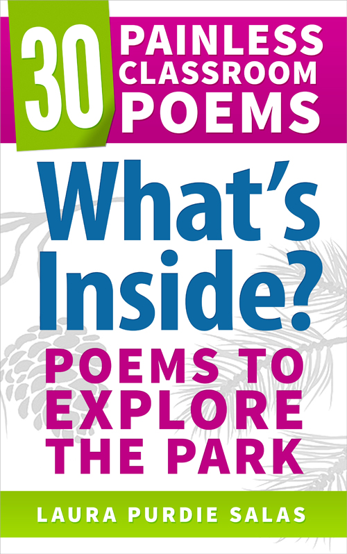 What's Inside? Poems to Explore the Park // Poems by Laura Purdie Salas // Teacher Activities by Ed Spicer