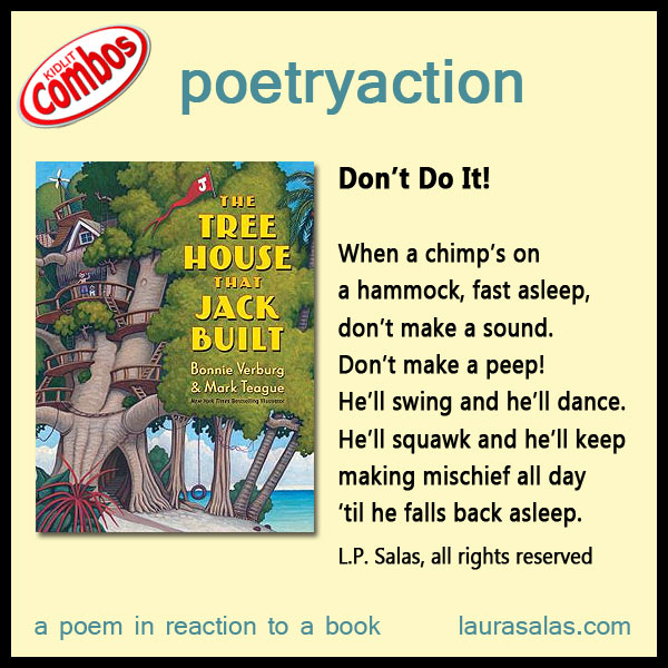 Poetryaction to The Tree House That Jack Built