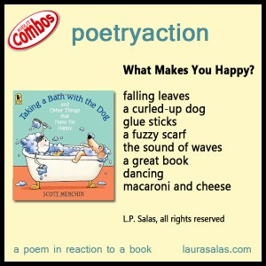 poetryaction and bookalikes for Taking a Bath With the Dog