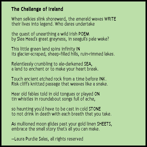 The Challenge of Ireland