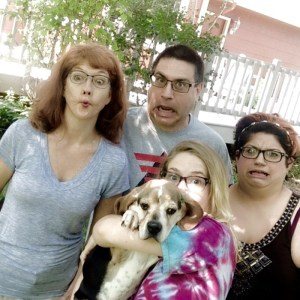 Laura and Family - The Weird Version - August 2015