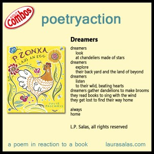 Poetryaction and Bookalikes for P. Zonka Lays an Egg