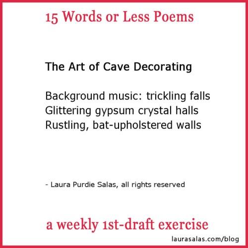 15 Words or Less Poem by Laura Purdie Salas