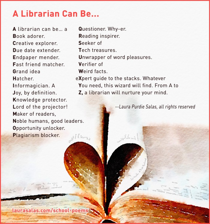 A Librarian Can Be... poem