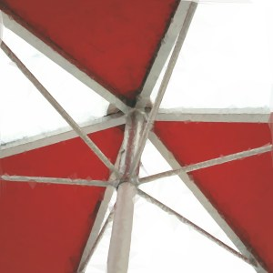 Umbrella, Inside [15 Words or Less Poems]