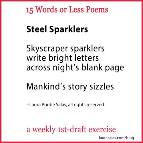 steel sparklers 15wol
