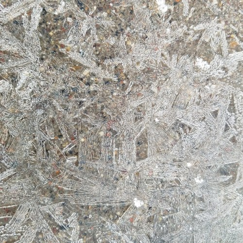 Ice on Pavement
