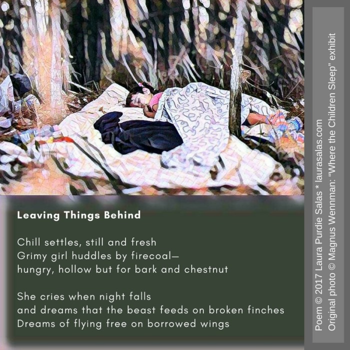 Leaving Things Behind - Golden Shovel Poem