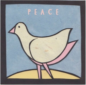 Peace Dove - by Dylan Metrano