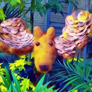 Moose Topiary, Sort Of [15 Words or Less]