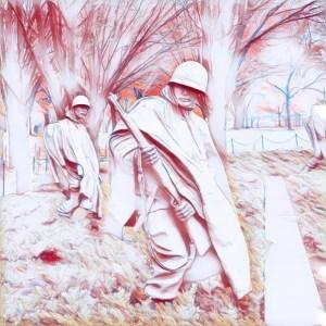 Korean War Veterans Memorial [15 Words or Less]