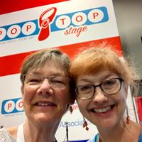 Joyce Sidman and Laura Purdie Salas at the ALA Poetry Blast 2019