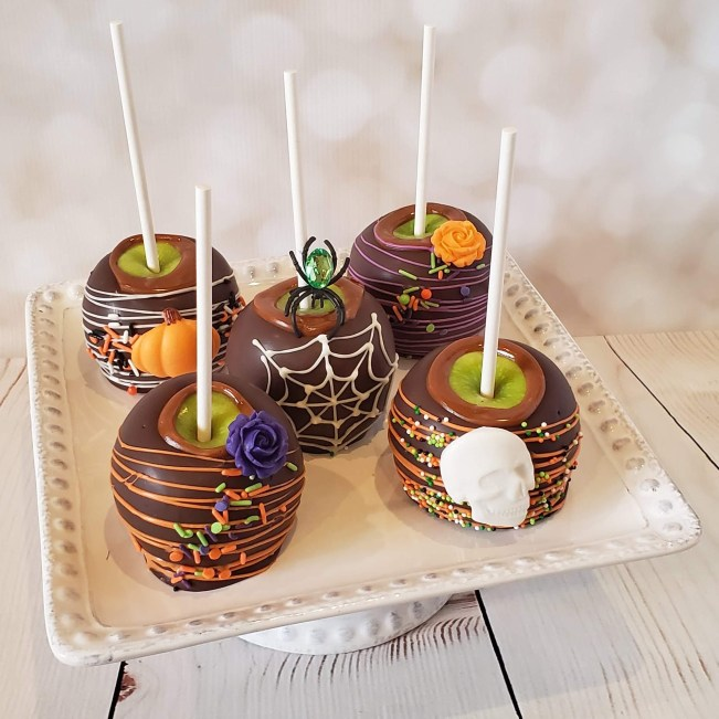 Halloween 1 Caramel Apples