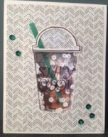 Iced Coffee Shaker Card