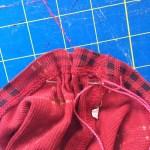 purse stitch around bottom