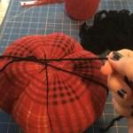 wrap yarns around ball