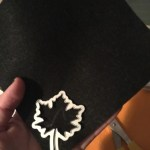 stencil for leaves