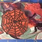 Find spiderweb orientation within cutout