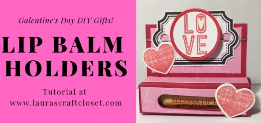 valentines day lip balm holder tutorial